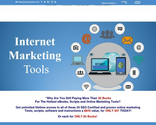 Online Marketing Tools - Search Engine Optimization Tools