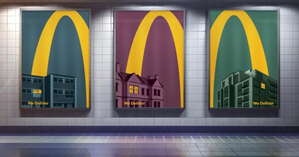 With These Striking Ads, McDonald's Again Proves It Doesn't Even Need to Say Its Name
