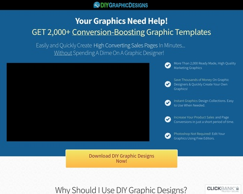 DIY Graphic Designs | Pre Made Graphics Templates