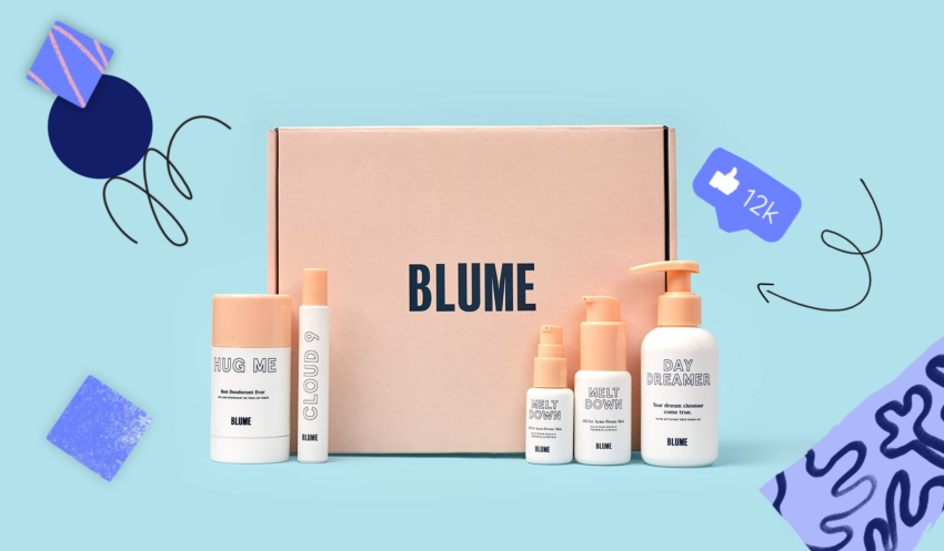 How Blume Markets and Sells to a Gen Z Audience