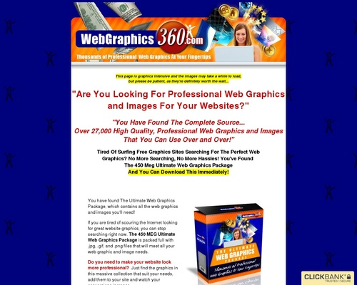 The Ultimate Web Graphics Package From Web Graphics 360.com